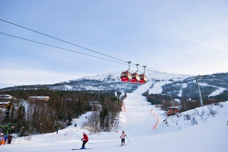 Skidåkning i Narvik